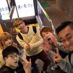 渋谷でサンボブとヒダカさんのミーティングに便乗w