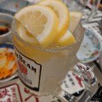 レモンの数で自分が何杯飲んだかをカウントする