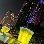 今年で三度目!新宿中央公園ビアガーデン「水と緑のEvening Bar!!! 2019」に行ってきた