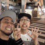 大阪から来てたペーターに高円寺の美味しいお店を紹介