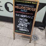 渋谷TAKE OFF7とQUATTROで開催されたGOOD4NOTHING主催のメロディックコースター2020