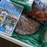 ONEFES2020の主催のカジ兄弟から富山のホタルイカが届いた