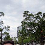 テディベアと養生中の中野セントラルパーク