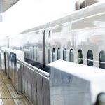 雨の早朝新大阪から新幹線で戻って夜はスタジオ