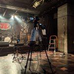 下北沢ReGで行われた3SET-BOBとSPLASHの生配信ライブでカメラマンに挑戦