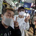 高円寺でSTUNNERと配信ライブに向けてのミーティング
