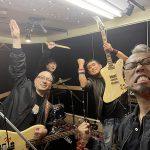 八王子でコピーバンド大会にむけてのスタジオに入ってきた