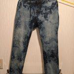 昔のOiパンク風なケミカルウォッシュのジーンズを作ってみた