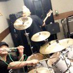土曜のライブに向けて中野でZOMBIESTARZのスタジオ