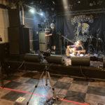 EAT THE ROCK ONLINE2021の下北沢ReGステージでアコースティックライブ